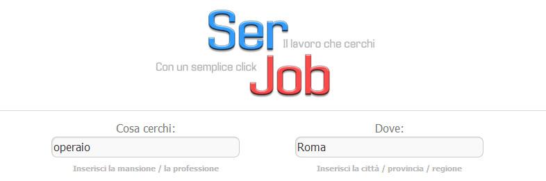 SerJob come cercare lavoro